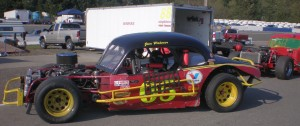 Jim Palmer in the 05 car, 11th place with 113 points.