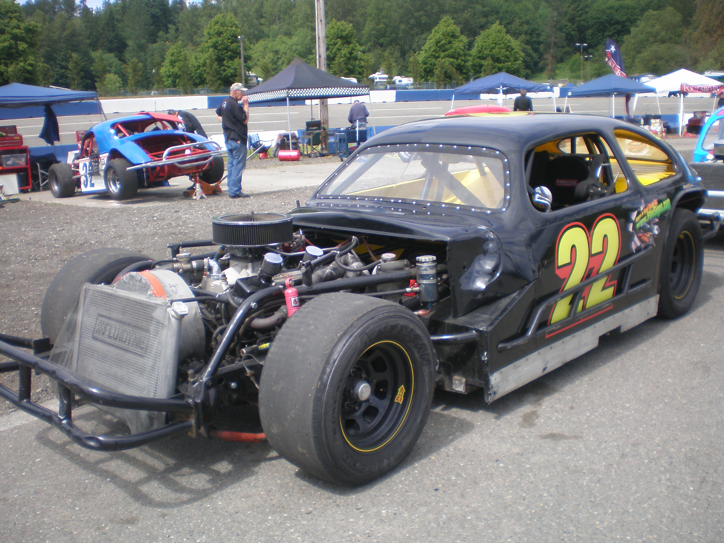 Vintage Modified Race Car 74