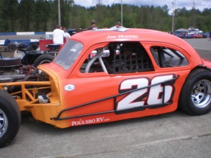 John Mustered in the 26 car.