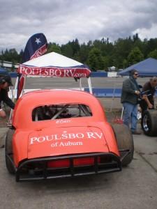 John's sponsor, Poulsbo RV of Auburn.