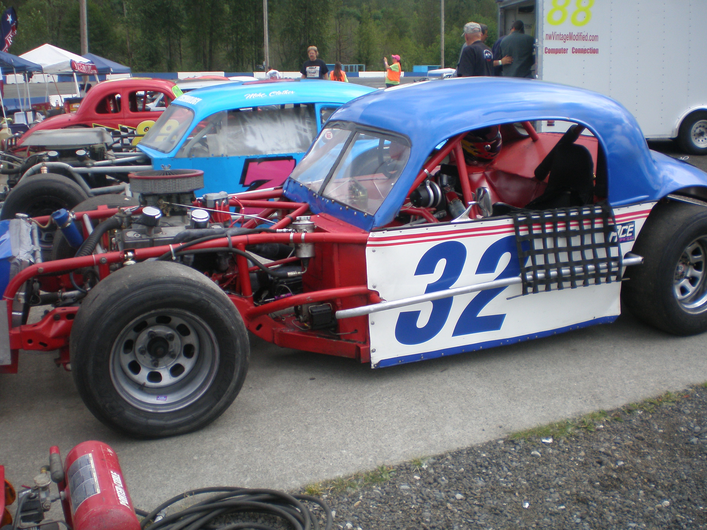 Vintage Modified Race Car 35