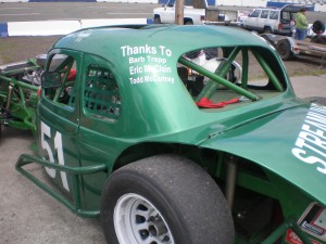 Dave Trapp in the 51 car, 10th place with 144 points.