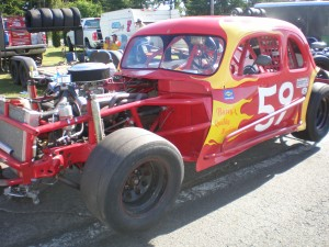 Dawn Huntley in the 59 car, 14th place with 55 points.