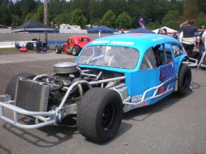 Mike Clother in the 7 car, 6th place with 502 points.