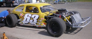 Scott Rinkel in the 63 car, 9th place with 308 points.